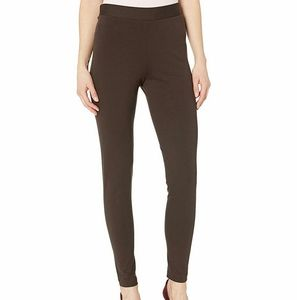 Vince Camuto Olive Ponte Knit High Waist Leggings